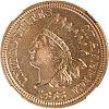U.S. 1863 INDIAN HEAD 1C COIN