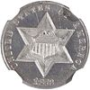 U.S. 1873 CLOSED 3 PROOF SILVER 3C COIN