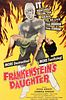 "Period Film Poster, ""Frankenstein's Daughter"""