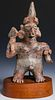 Male Warrior Figure, Nayarit, Mexico, 100 BC-250 AD