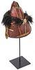 Naga Headhunter Hat, Early to Mid 20th C., India