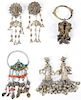 Collector's Lot of Antique Ethnographic Earrings