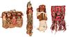 Lot of Chancay Pre-Columbian Style Dolls