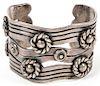 William Spratling (1900-1967) Sterling Silver Cuff Bracelet