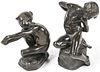 Lucy Gwendolen Williams (1870-1955) Two Bronze Sculptures