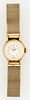 Vintage 14K Yellow Gold Omega Ladies Swiss Watch