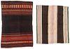 2 Antique Manta Textiles, South America