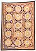 Antique Central Asian Suzani: 78'' x 55''
