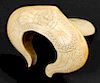 Antique Naga Snake Design Hindu Shrine Artifact, India