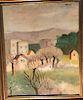 Ardengo Soffici (Italian, 1879-1964) Landscape Painting