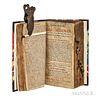 Sammelband of Fourteen British Almanacs, 1690.