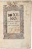 Xenophon ( c.430-354 BC) Xenophon's Treatise of Householde.