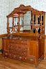 Massive Oak Sideboard Probably R J Horner