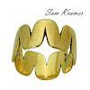 Sam Kramer 14k Yellow Gold Band Ring Size 6.25