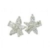 Tiffany & Co Platinum Victoria Diamond Cluster Earrings