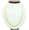 """Gucci 18k Yellow Gold Chain Necklace 19.5"""" Long"""