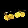 Tiffany & Co. Rare Cufflinks 18k Yellow Gold
