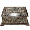 18th Century Turkish Ottoman Chest with Mother-of-Pearl