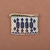 Great Lakes Loom-Beaded Charm Bag