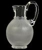 Lalique Langeais Crystal Pitcher by Marc Lalique
