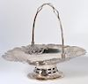 Chinese Sterling Basket by Tuck Chang