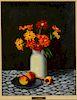 Eric Lundgren 'Still Life' Oil Painting on Board