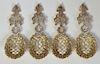 Set of 4 Tiffany Sterling Bon Bon Spoons