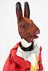 ca 1900 German rabbit nodder automaton