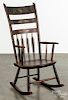 New England painted rocking chair, 19th c.