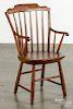 Child's Windsor armchair, 19th c.