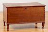 Diminutive cherry blanket chest, 19th c.