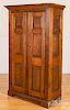 New England or Canadian pine cupboard, 19th c.