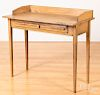 """Painted work table, 20th c., 35 1/2"""" h., 40"""" w."""