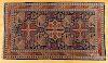 "Semi antique Shirvan carpet, 6'10"" x 4'."