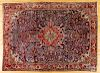 Heriz carpet, ca. 1940, 12' x 9'.