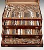 247 Pcs Towle Lady Mary Sterling Flatware