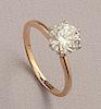 14K 1.60 Carat Diamond Solitaire Ring