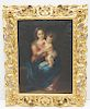 MADONNA & CHILD OIL PAINTING