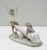 LLADRO PORCELAIN SEESAW GROUP