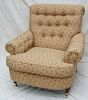 VICTORIAN UPHOLSTERED ARM CHAIR