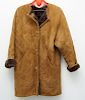 FRATELLI GALLOTTI sz 42 SHEARLING SHEEPSKIN JACKET
