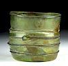Roman Parthian Glass Cup w/ Rigaree, ex-Royal Athena