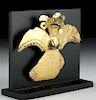Tairona Tumbaga Bird Amulet - 24.5 grams