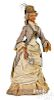 Large early wooden milliner doll