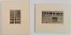 Shigeru Kimura 2 etchings