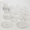 Forty-three Pieces of Finnish Modern Glass Tableware