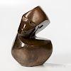 Damian Manuhwa (1952-2008) Cubist Stone Bust
