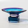 Maya and Terry Balle Acrylic Bowl on Stand