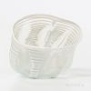 Early Dale Chihuly (American, b. 1941) Small Glass Basket