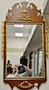 "Margolis mahogany Queen Anne style mirror.  43 1/2"" x 22"""